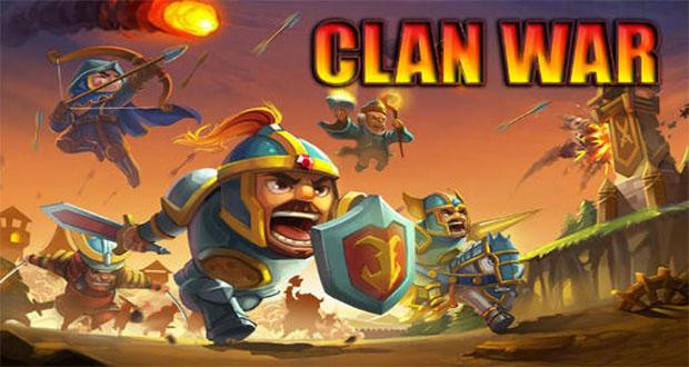 معرفی بازی Clan War: ارتش را برای نبرد آماده کنید