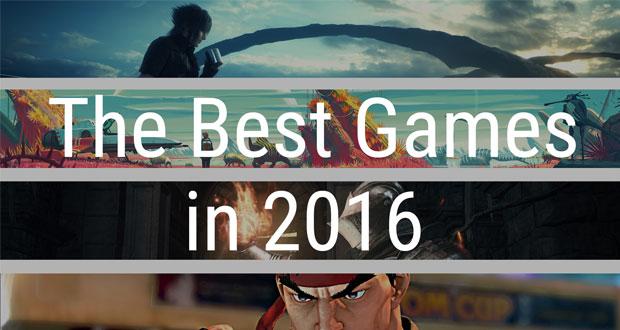 ۱۰ مورد از بهترین بازی هایی که در سال ۲۰۱۶ عرضه خواهند شد