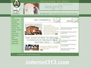 پایگاه انتخابات نیجریه هک شد